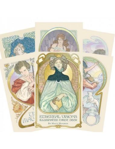 Ethereal Visions: Illuminated Tarot...