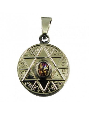 Amulette Etoile à 6 branches avec...