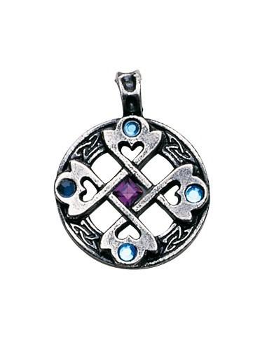 Pendentif Coeur croix celtique