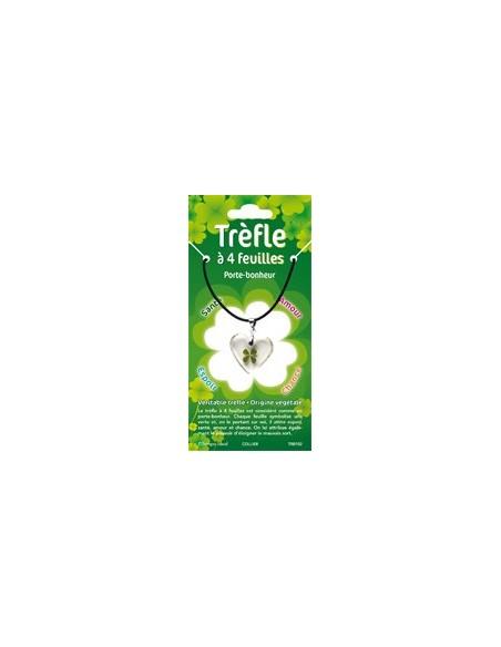 Collier Trèfle à 4 feuilles (ovale)