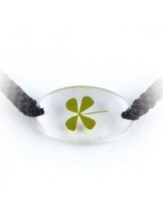 Bracelet Trèfle à 4 feuilles (ovale)