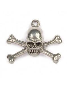 Pendentif Tête de Mort Pirate 02