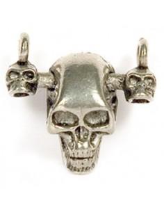 Pendentif Triple Crâne 10