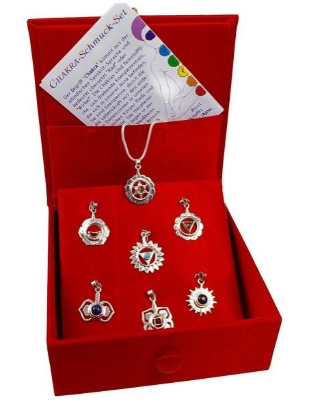 Boîte pendentifs 7 Chakras