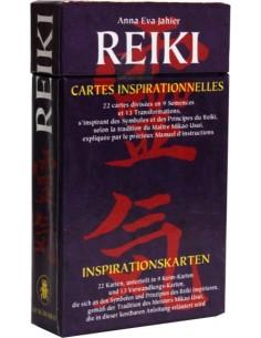 Cartes d'inspiration Reiki - Anna Eva Jahier