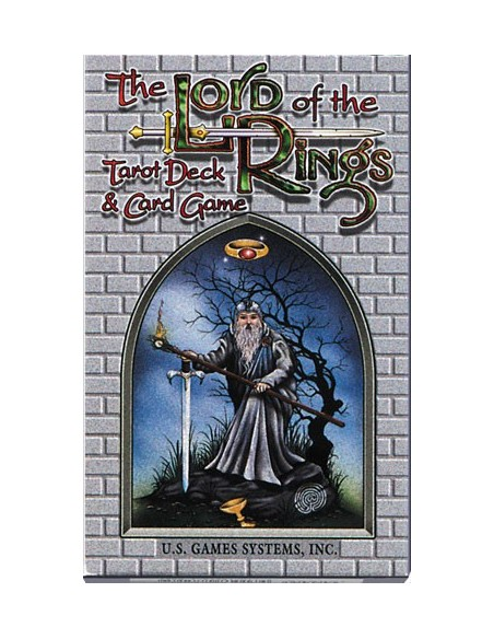 Lord of the Rings Tarot Deck & Card Game [anglais]