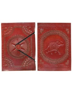 Carnet cuir éléphant (moyen)