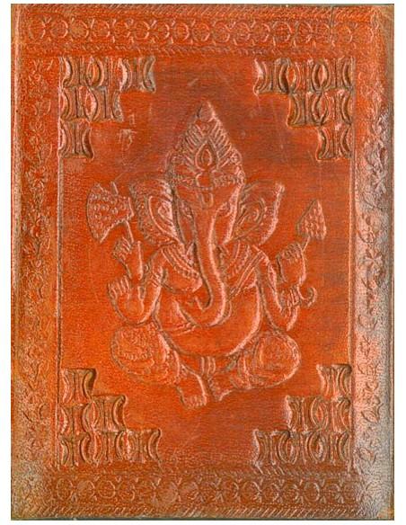 Carnet cuir Ganesh petit