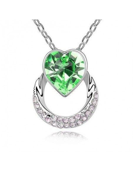 Cœur de Cristal Vert
