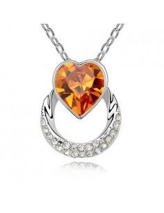 Cœur de Cristal Orange