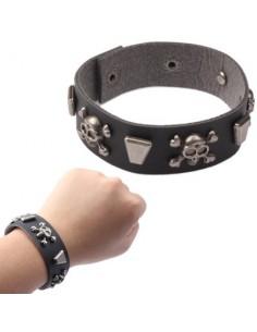 Bracelet Dame avec Crânes