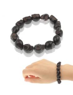 Bracelet élastique 14 Crânes