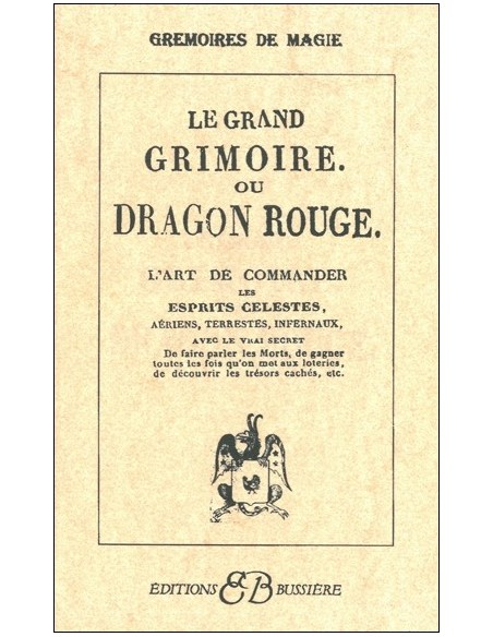 Grand grimoire ou Dragon rouge
