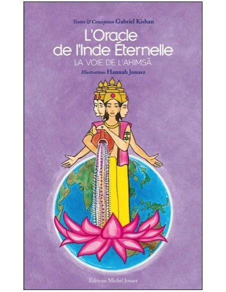 Oracle de l'Inde Eternelle - La voie de l'Ahimsa (livre + cartes) - Gabriel Kishan & Hannah Jonasz
