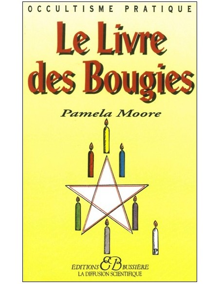 Livre des bougies - Pamela Moore