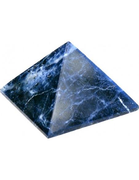 Pyramide Sodalite Brésil Qualité Extra 5 cm