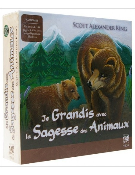 Je Grandis avec la Sagesse des Animaux - Coffret livret + jeu - Scott Alexander King
