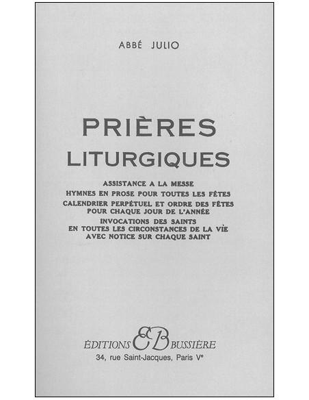 Prières liturgiques - Abbé Julio