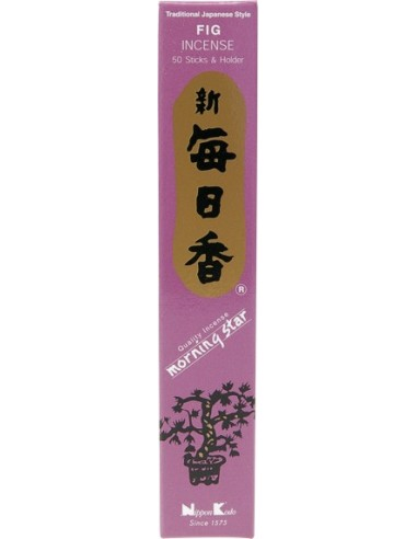 Encens japonais Figue (boîte de 50 sticks)