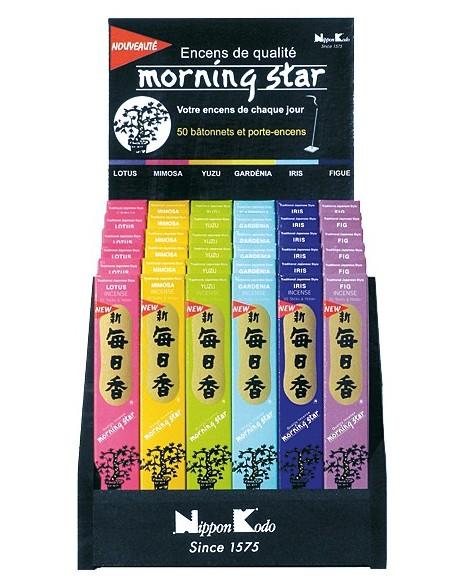 Encens japonais Lotus (boîte de 50 sticks)