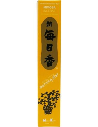 Encens japonais Mimosa (boîte de 50 sticks)