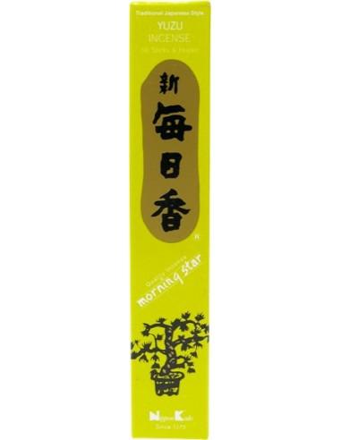 Encens japonais Yuzu (boîte de 50 sticks)