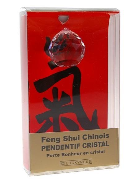Porte-bonheur Feng-shui Pendentif cristal