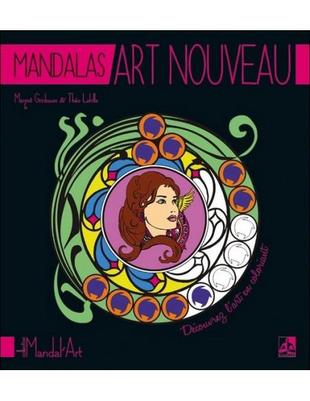 Mandalas Art Nouveau - Margot Grinbaum & Théo Lahille