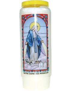 Neuvaine vitrail Notre Dame des Miracles