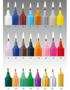 Bougie de 24 couleurs