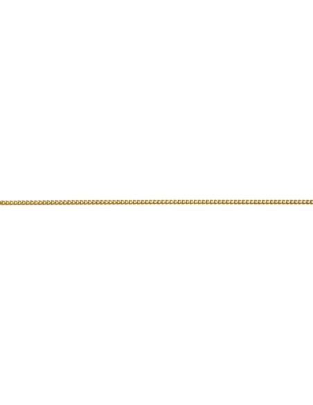 Chaîne maille gourmette Plaqué Or 45 cm