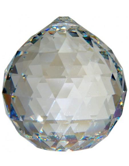Boule de Cristal à facettes 30 mm