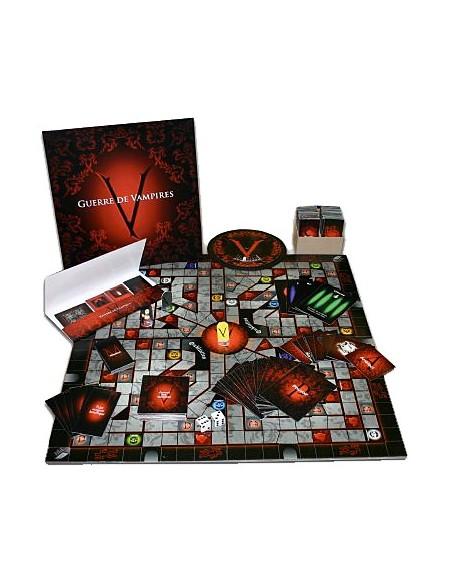 Guerre de vampires - Coffret jeu - L. Pilon & S. Trudel