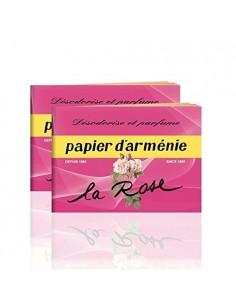 Papier d'Arménie La Rose (carnet)