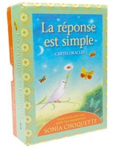 La réponse est simple - Coffret livre + jeu - Sonia Choquette