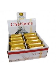 Charbons ardents dorés