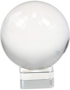 Boule de cristal 80 mm + Support