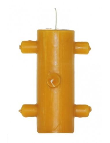 Bougie 7 mèches Orange