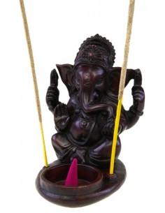 Porte encens pour cône Ganesh en résine