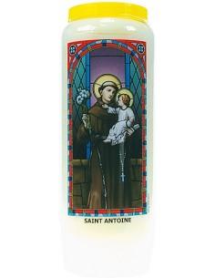 Neuvaine vitrail Saint Antoine