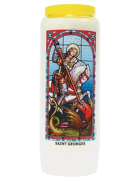 Neuvaine vitrail Saint Georges