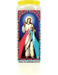 Neuvaine vitrail Jésus, j'ai confiance en toi