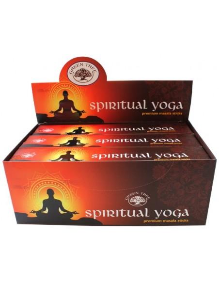 Encens Green Tree Spiritual Yoga 15 grammes