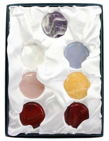 Set des pierres des chakras