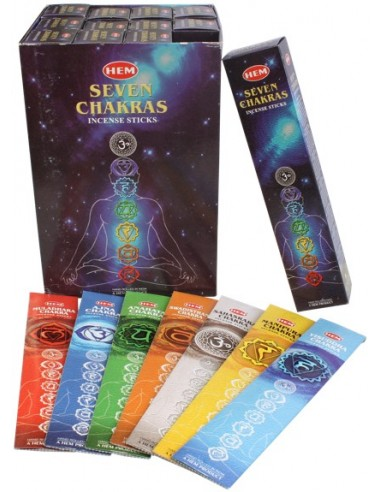 Encens Sept Chakras 20 grs Hem