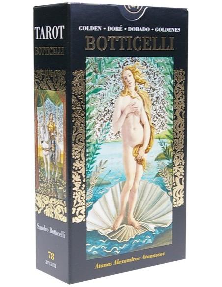 Tarot doré de Botticelli - Atanas Alexandrov Atanassov