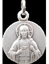Médaille Jésus Christ argentée