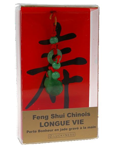 Porte-bonheur Feng-shui Longue vie