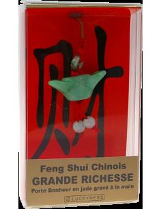 Porte-bonheur Feng-shui Grande richesse