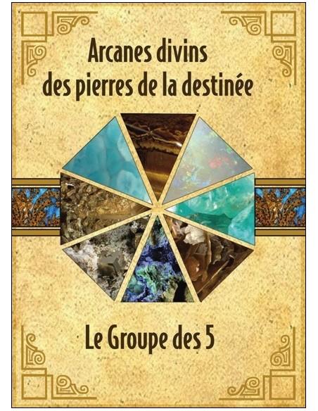 Arcanes divins des pierres de la destinée - Coffret livret + cartes